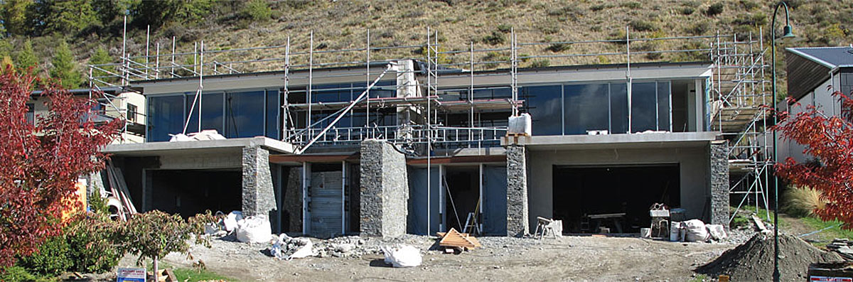 Architectural high-end new home build - Wanaka